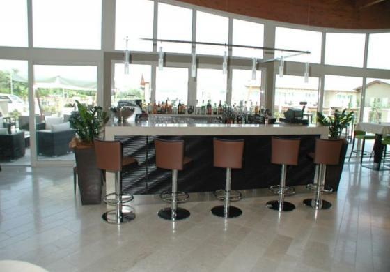 Molto vetro per l'arredamento per alberghi a Brescia