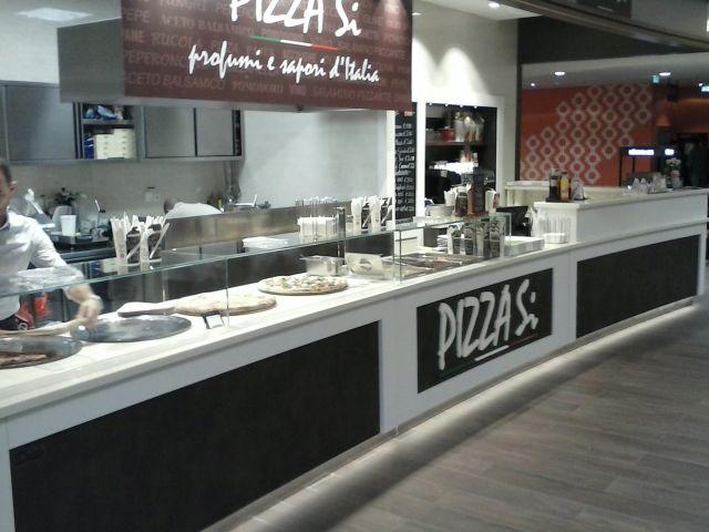 Arredamento pizzerie da asporto for Arredamento pizzeria moderno